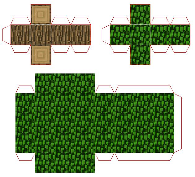Accessories Minecraft Cutouts